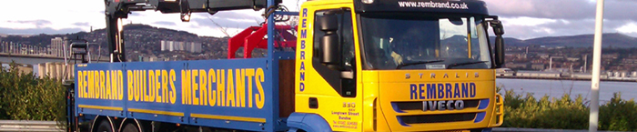 Rembrand Builders Merchants Lorry