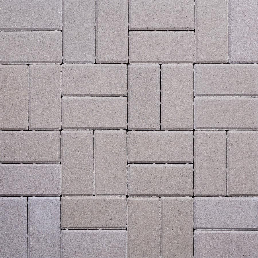 200x100x50mm Thick Rectangular Block Paving Grey